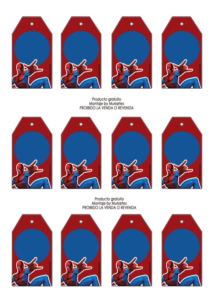 http://www.susaneda.com/Imprimibles/Imprimibles-Spiderman/