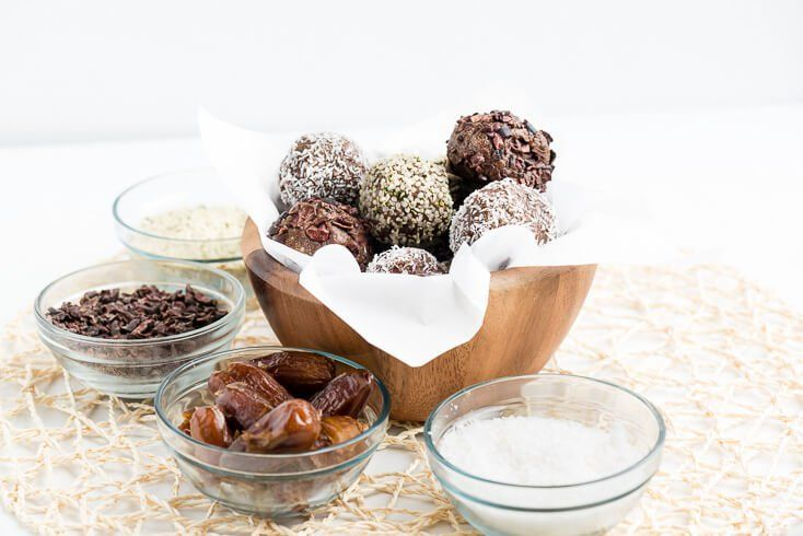 Energy Balls: Your Afternoon Pick-Me-Up!