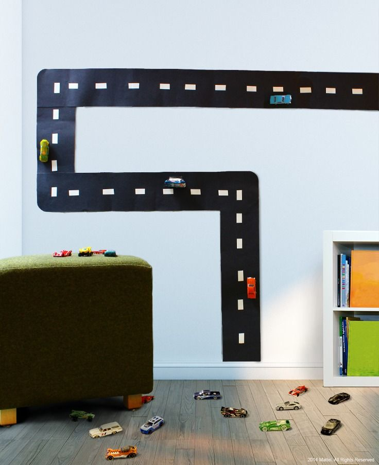 Wall Decor With Construction Paper : Who says room decor can t be used for extra playtime hang