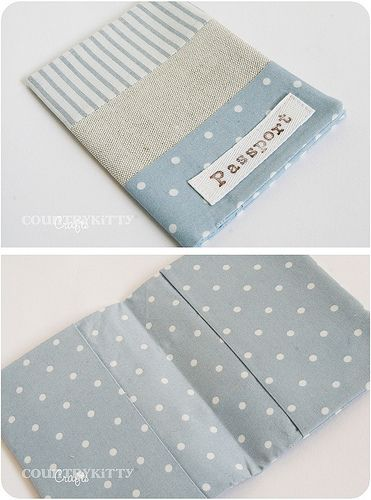 bluebird set - passport holder | Flickr - Photo Sharing!