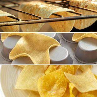 3 DIY tortilla tricks: How to make your own taco shells, taco bowls and tortilla chips //// DIY Taco Shells, Chips & Bowls to Trim Calories, Fat & Sodium