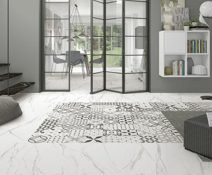 ARCANA Tiles   Thalassa series   flooring   Porcelain tile   marble inspiration   interior design