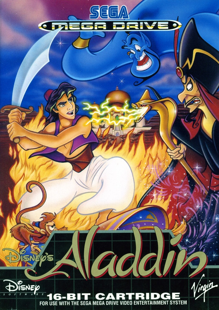 I owned this game. And I mean owned it in the sense that I won most every time I played it. Aladdin - Sega Megadrive / Genesis