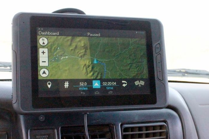 Magellan eXplorist TRX7 Off-Road GPS Navigator 301