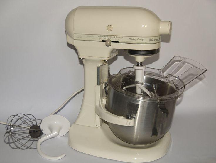 KitchenAid Heavy Duty K5SS AC 5 Qt Stand Mixer w/ Accessories 10 Speed  #KitchenAid