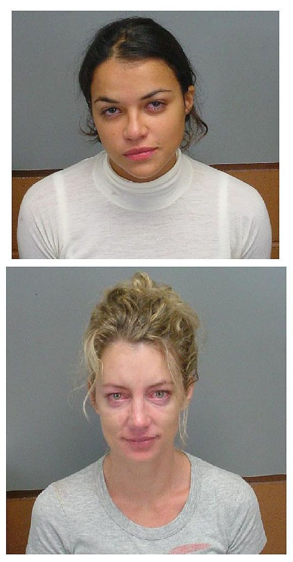 "Michelle Rodriguez and Cynthia Watros, stars of the ABC megahit ""Lost,"" were arrested by Honolulu cops in December 2005 and charged with drunk driving."