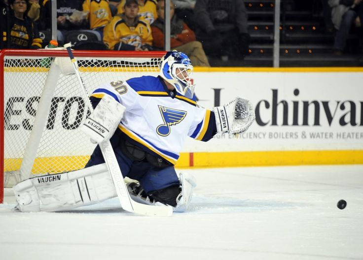 Marty Party On Hold: Legend Brodeur Fails to Win Blues Debut - http://thehockeywriters.com/marty-party-on-hold-legend-brodeur-fails-to-win-blues-debut/