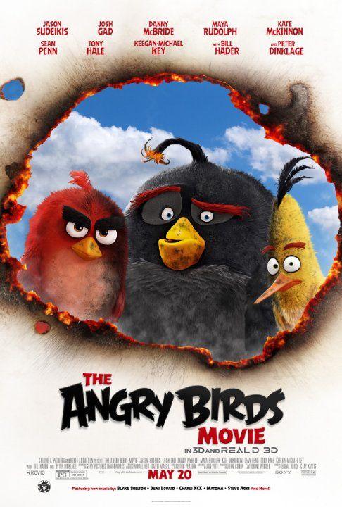 Angry Birds Movie (2016) Download In Hindi 300MB Worldfree4u