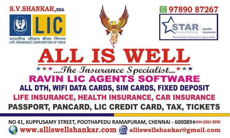 Know More www.alliswellshankar.com if u wanted any services pls Call me Shankar 9789087267