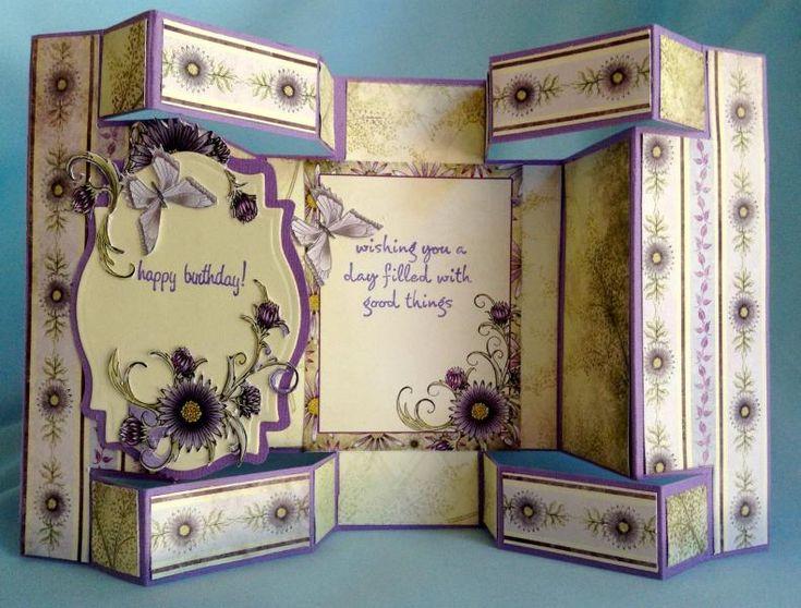 68 best Tri-shutter card ideas images on Pinterest Tri fold - tri fold card