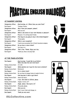 Practical English Dialogues