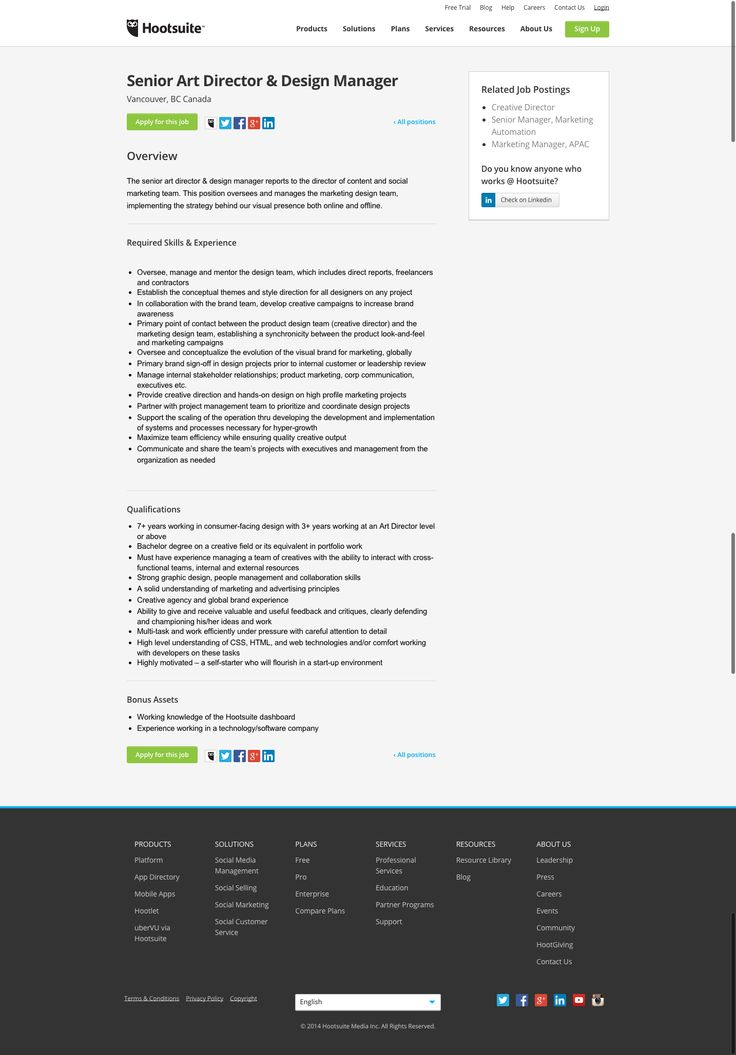 73 best Careers Page Layouts images on Pinterest Layout, Website - the resumator