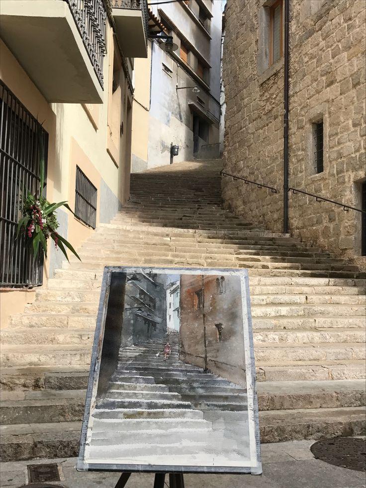 Kazuo Kasai  in Girona Spain