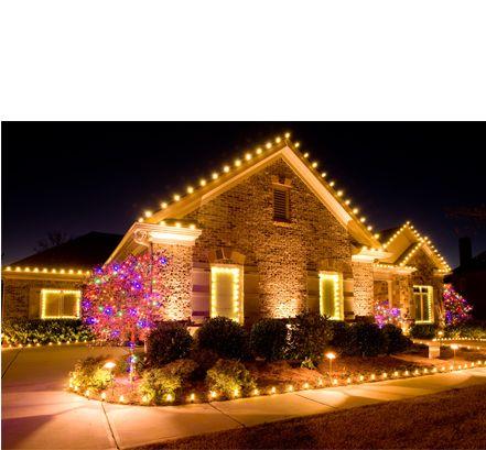 Commercial Christmas Light Decor | Residential Decorating Ideas | Christmas Decor