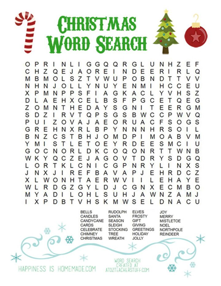 Best 25 Christmas word search ideas on Pinterest Christmas