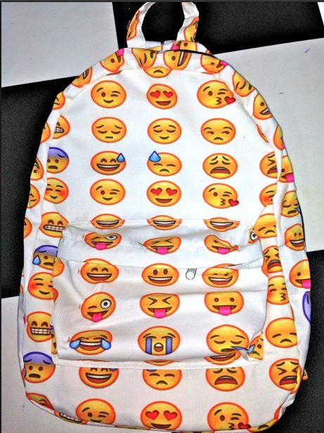 SWEET LORD OMIGHTY! EMOJI BACKPACK cheap.thegoodbags.com  MK ??? Website For Discount ⌒? Michael Kors ?⌒Handbags!  Super Cute! Check It Out!