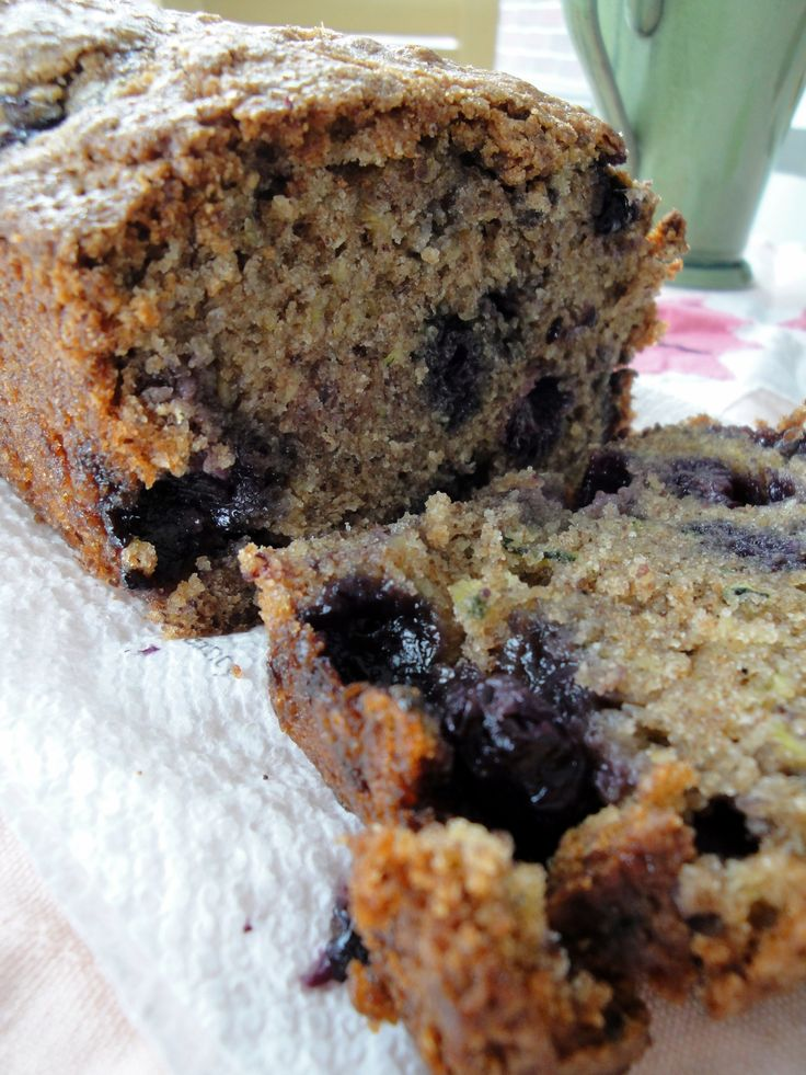 Blueberry Zucchini bread | Recipes | Pinterest | Blueberry ...