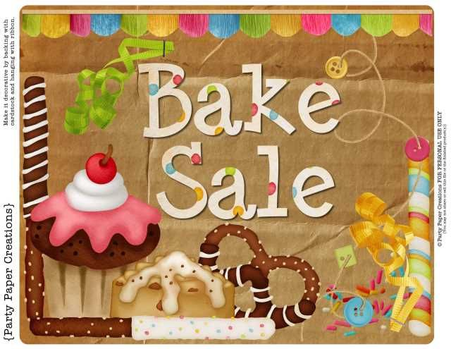 17 best bake sale images – Sale Sign Templates Free