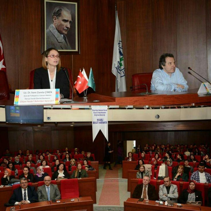 'Farkındayım, Onların Yanındayım'  Belediye binamızda Otizm Nedir konulu seminerimizden..