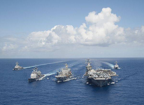 70% of the world is water. Your #USNavy has it covered.