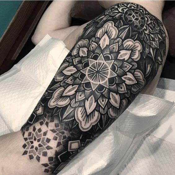Mandala Tattoo Design On Pinterest: 50 Best Mandala Tattoos For Men Images On Pinterest