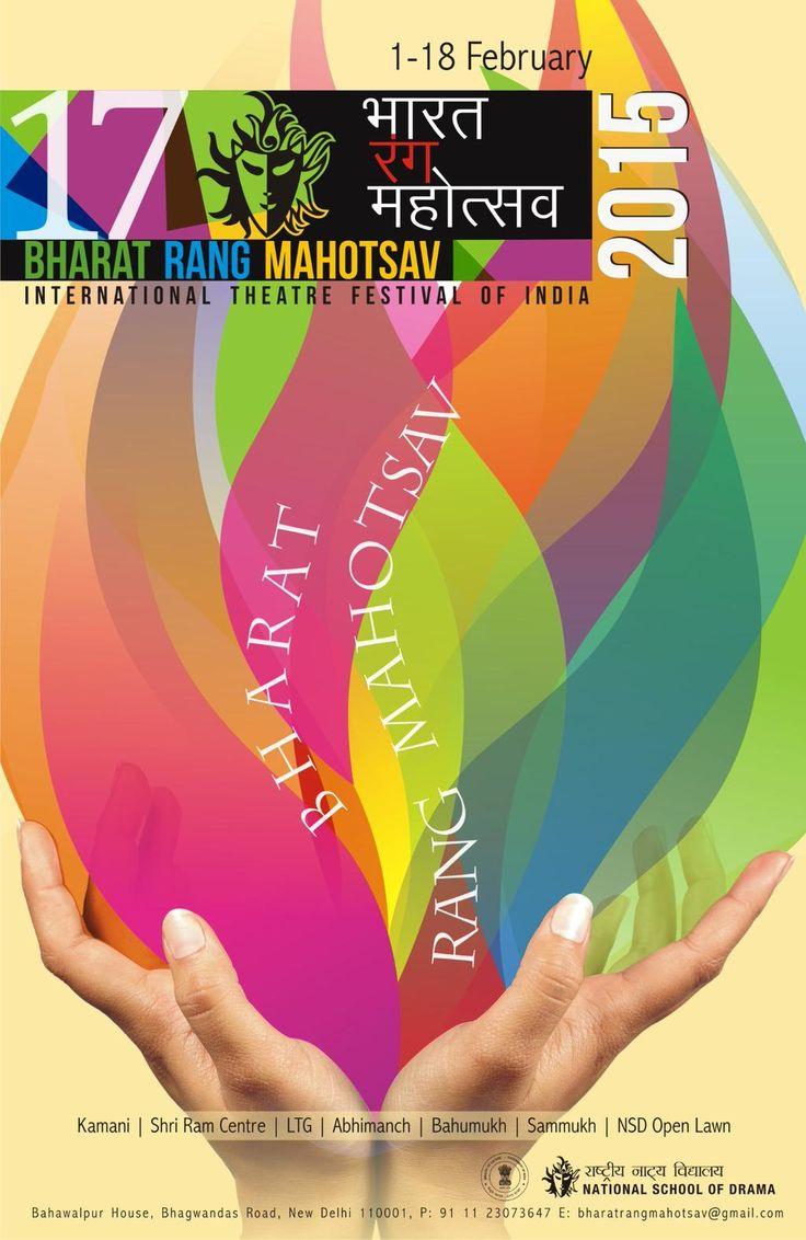 If you are in Delhi, do not miss #BharatRangMahotsav