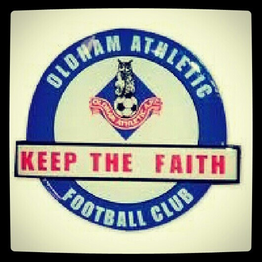 My beloved Oldham Athletic