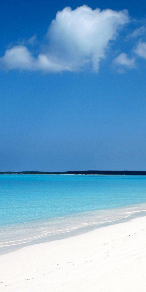 Cape Santa Maria Beach Stella Maris Bahamas Caribbean Beaches Tropics Coast Vacation Travel