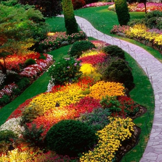 Bedroom : Exteriograceful Colorful Garden Flower Bed Ideas Grant Flower Bed  Ideas To Make Beautiful Garden How To Make A Flower Bedu201a How To Plant A  Flower ...