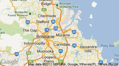 Brisbane Map - North side and south side