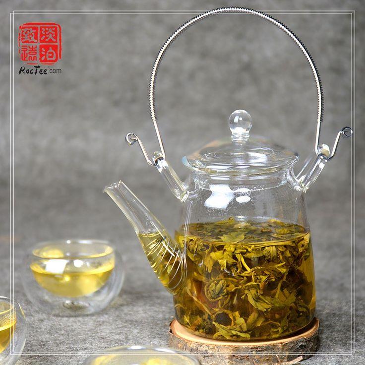 300ml Heat-Resistant Glass Teapot, 13cm*8cm High Quality Tea Pot,Chinese Strainless Steel Teapot, Creative Modern Teapots