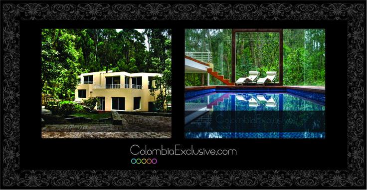 Colombia, Bogota. Esta espectacular villa ubicada en los cerros del exclusivo barrio Rosales, es el lugar perfecto para vivir una estancia llena de lujo y confort en Bogotá. http://www.colombiaexclusive.com/inmobiliaria/larenta.php?idrenta=27