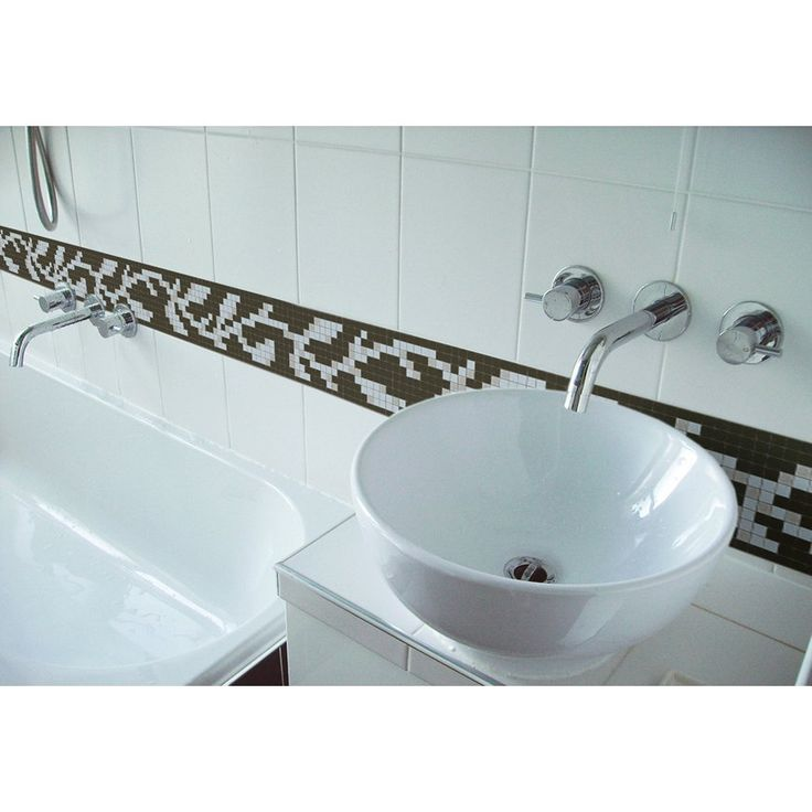 Agrestic embodies the inherent flow of nature in arrangement of the vine and in the selected color ways. Agrestic Truffle Price Per SqFt: $ 39.00 #bathroom