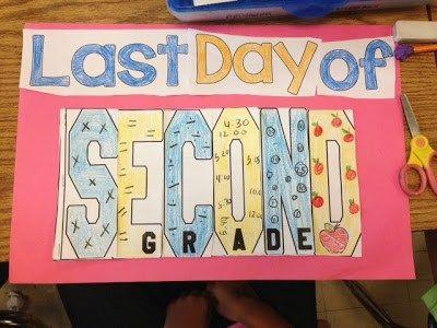 last day of school writing activities