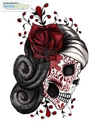 I love these types of tattoos, dark and beautiful