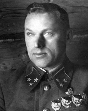 Marshall of the Soviet Union Konstantin Rokosovsky.