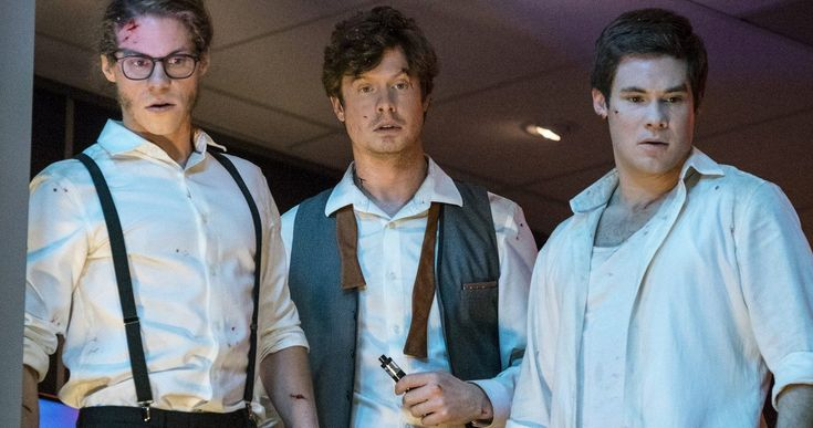 New Game Over, Man! Trailer Turns the Workaholics Into Action Heroes -- Adam Devine, Anders Holm and Blake Anderson are back on Netflix with Game Over, Man!, their first project since bringing Workaholics to a close last year. -- http://movieweb.com/game-over-man-movie-trailer-2-netflix/