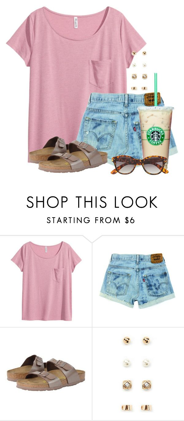"""""""Watching Captain America: The Winter Soldier"""" by flroasburn ❤ liked on Polyvore featuring H&M, Birkenstock and Forever 21"""