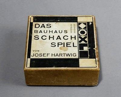 Juego de Ajedrez de la Bauhaus