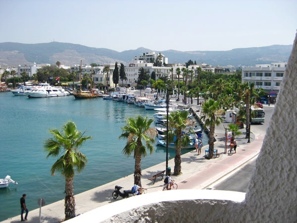 Kos, Greece beautiful place spoilt by tourists unfortuntely