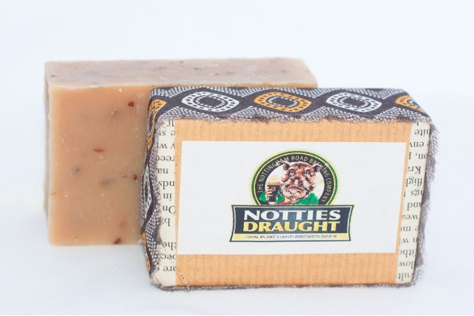 Notties Draught Beer handmade soap by Rondavel