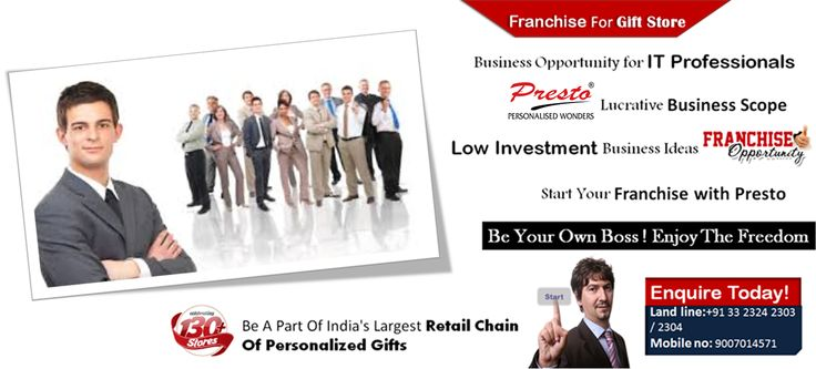 Start a beneficial #journey as #Presto #Franchiser   Do #business with us...Be a part of India's largest retail chain of #personalizedgifts.   >#Lowinvestment Business with High level #profit assurance