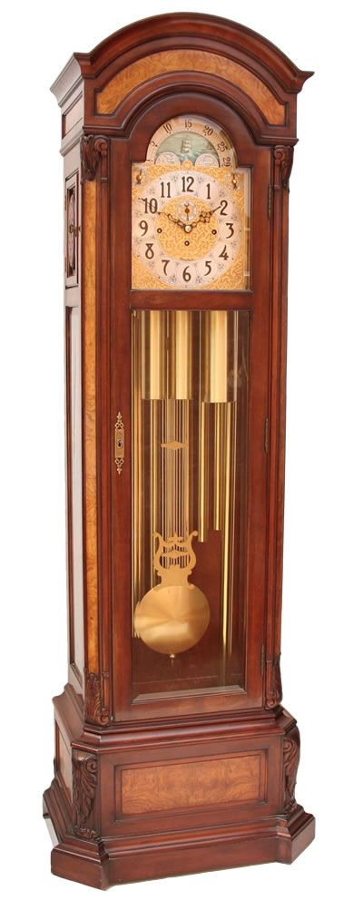 A grandfather clock... because who doesn't love a classy grandfather clock?