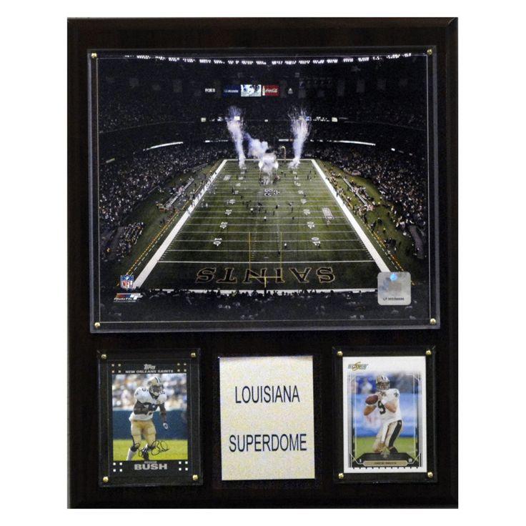 NFL 12 x 15 in. Louisiana Superdome Stadium Plaque - 1215LSD