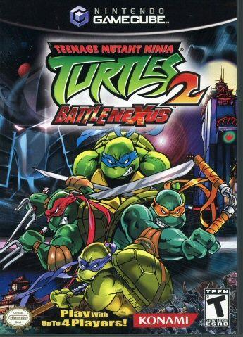 112.3266: Nintendo GameCube Teenage Mutant Ninja Turtles 2: BattleNexus   video game   Console Games   Video Games   Online Collections   The Strong