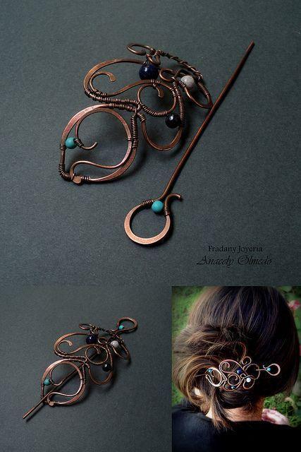 fibula brooches for hair