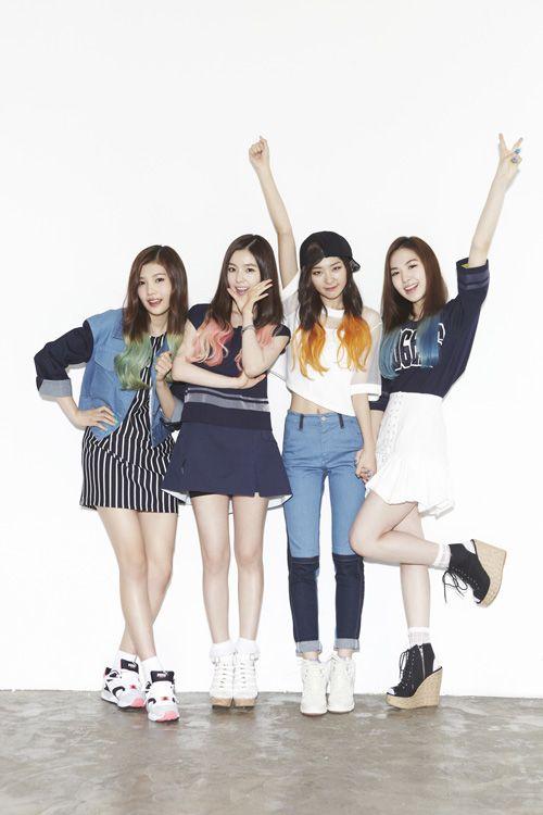 SM's maknae group ~ Red Velvet