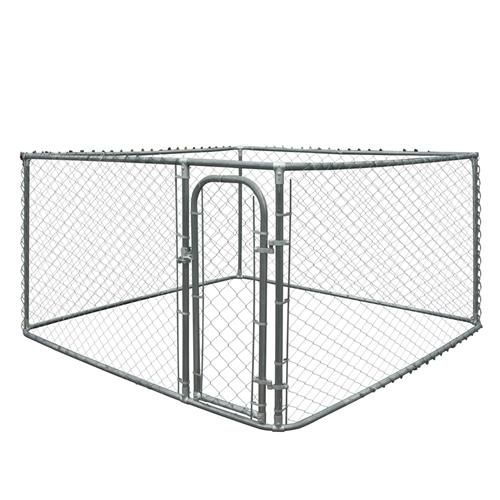 Diy Chain Link Dog Kennel 7 5 X 7 5 X 4 Feet Diy Dog Kennel Chain Link Dog Kennel Metal Dog Kennel
