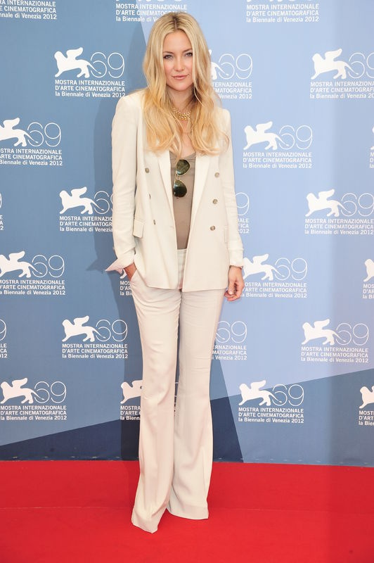 Kate Hudson na weneckim festiwalu filmowym (fot. Bulls)