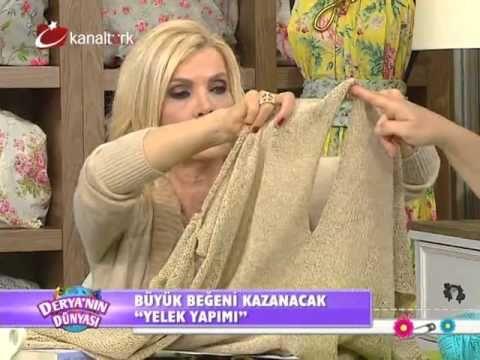 """Derya Baykal - Deryanın Dünyası - """"Şal ve manolya çiçeği yapımı"""" -23.02.2015 - YouTube"""